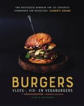 Burgers : vlees-, vis- en vegaburgers