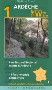 Wandelwegwijzer Monts d'Ardèche