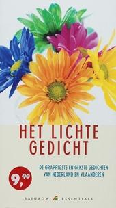 Het lichte gedicht : de grappigste en gekste gedichten van Nederland en Vlaanderen
