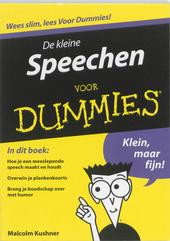 De kleine speechen voor dummies