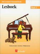 Hal Leonard pianomethode : Lesboek. Deel 3