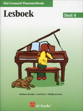 Hal Leonard pianomethode : Lesboek. Deel 4