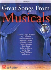 Great songs from musicals : trumpet