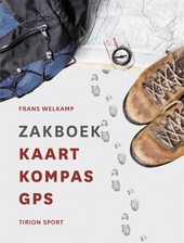 Zakboek kaart, kompas, GPS