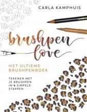 Brushpen love : het ultieme brushpenboek : tekenen met je brushpen in 4 simpele stappen