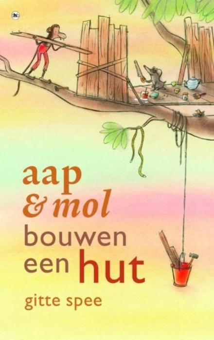 Aap & mol bouwen een hut