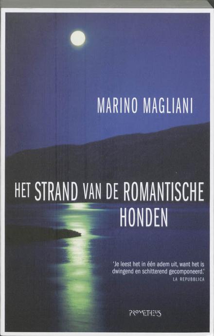 Het strand van de romantische honden