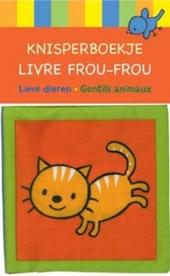 Lieve dieren : knisperboekje