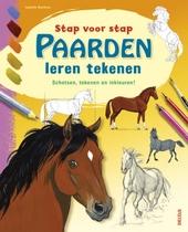 Paarden leren tekenen : schetsen, tekenen en inkleuren!