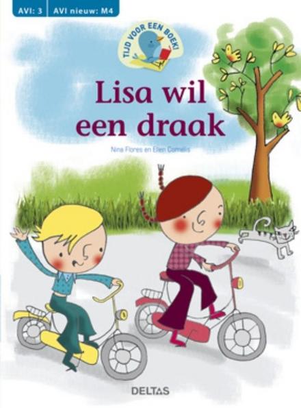 Lisa wil een draak