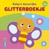 Baby's kleurrijke glitterboekje