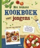 Het leukste kookboek voor jongens : meer dan 40 eenvoudige recepten, van een spiegeleitje tot lekkere pasta stap vo...
