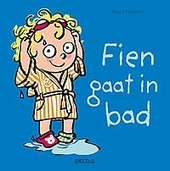 Fien gaat in bad