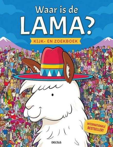 Waar is de lama? : kijk-en zoekboek
