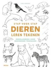 Stap voor stap dieren leren tekenen : modellenboek voor beginnende tekenaars