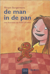 De man in de pan