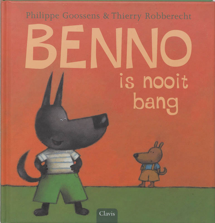 Benno is nooit bang