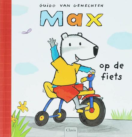 Max op de fiets