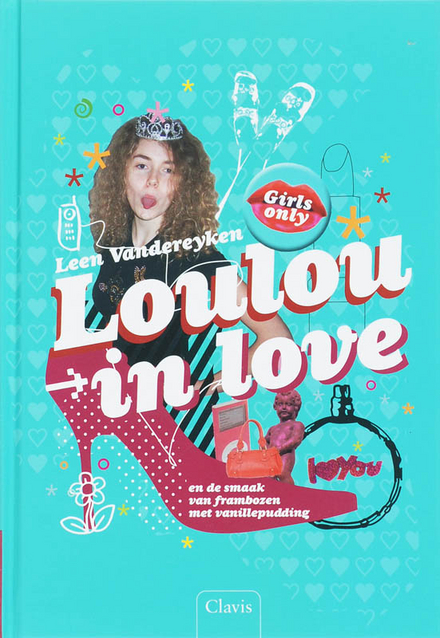 Loulou in love en de smaak van frambozen met vanillepudding