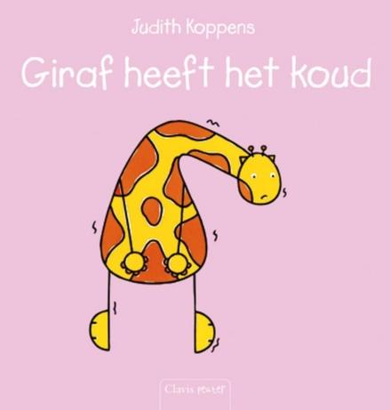 Giraf heeft het koud