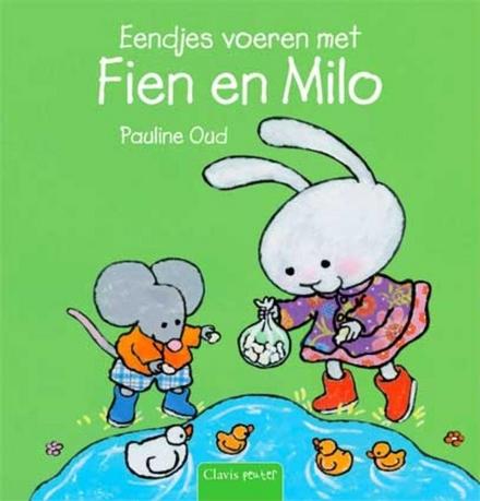 Eendjes voeren met Fien en Milo