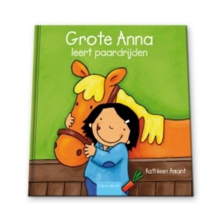Grote Anna leert paardrijden