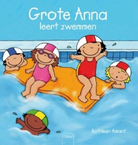 Grote Anna leert zwemmen