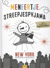 Meneertje streepjespyjama in New York