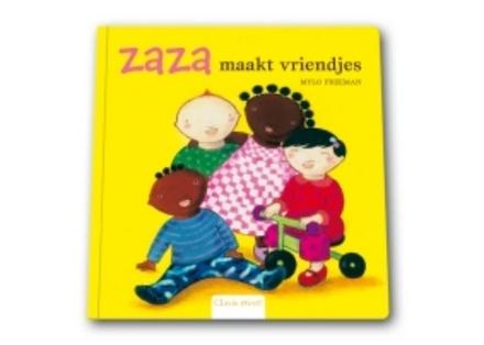 Zaza maakt vriendjes