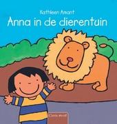 Anna in de dierentuin