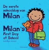 De eerste schooldag van Milan [Nederlands-Engelse versie]