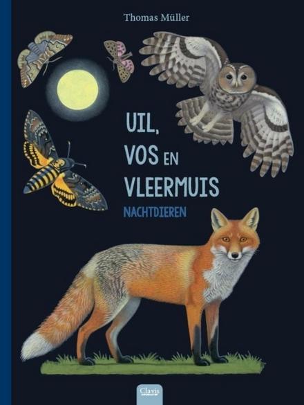 Uil, vos en vleermuis : nachtdieren