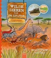 Wilde dieren van de savanne : dierenprentenboek met verhalen en informatie