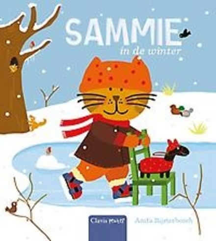 Sammie in de winter