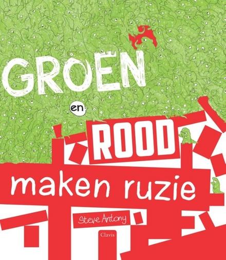 Groen en rood maken ruzie