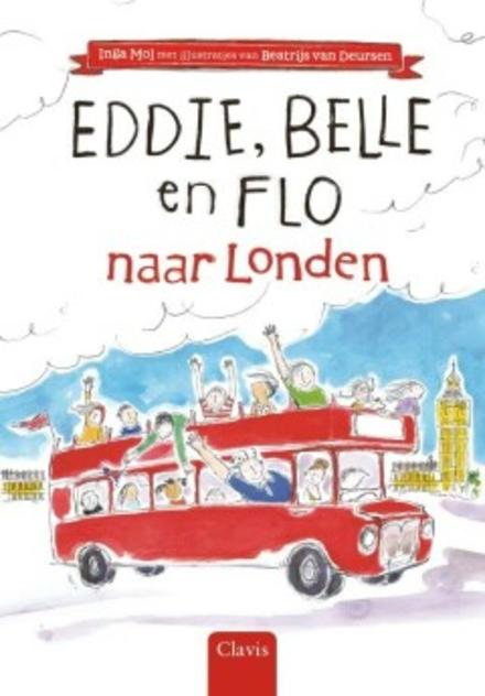 Eddie, Belle en Flo naar Londen