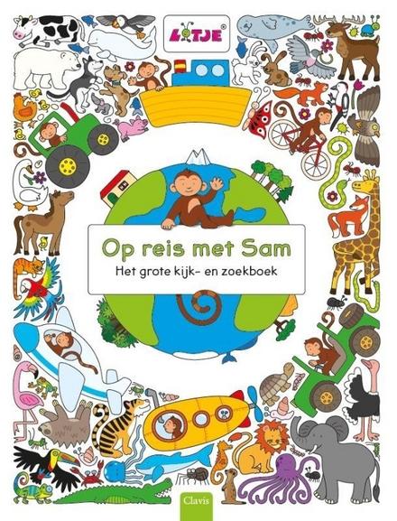 Op reis met Sam : het grote kijk- en zoekboek