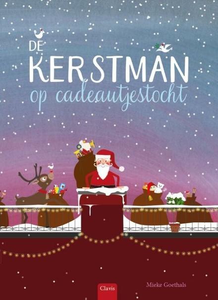 De kerstman op cadeautjestocht