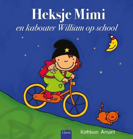 Heksje Mimi en kabouter William op school