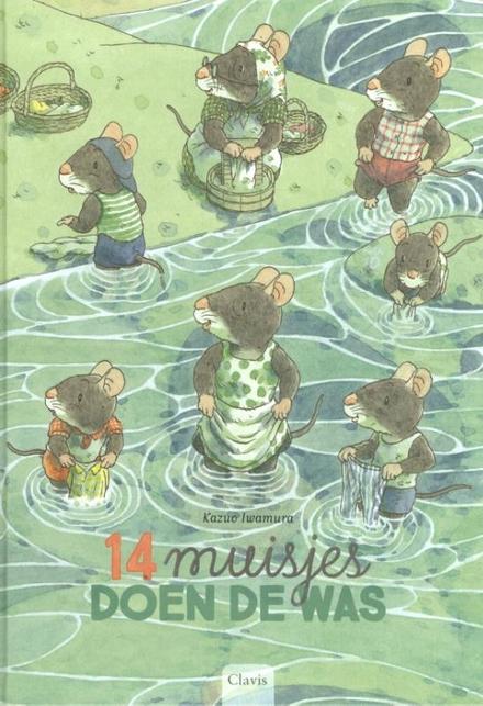 14 muisjes doen de was
