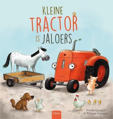 Kleine tractor is jaloers