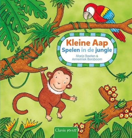 Kleine aap : spelen in de jungle