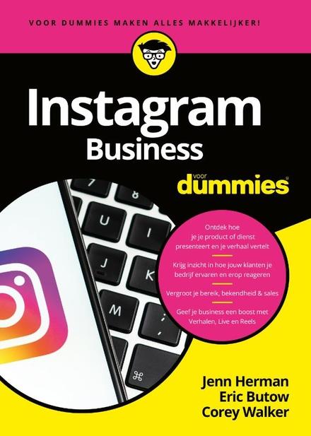 Instagram business voor dummies