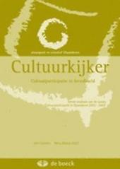Cultuurkijker : cultuurparticipatie in breedbeeld : eerste analyses van de survey Cultuurparticipatie in Vlaanderen...