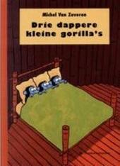 Drie dappere kleine gorilla's