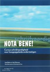 Nota bene! : cursus schrijfvaardigheid voor hoogopgeleide anderstaligen