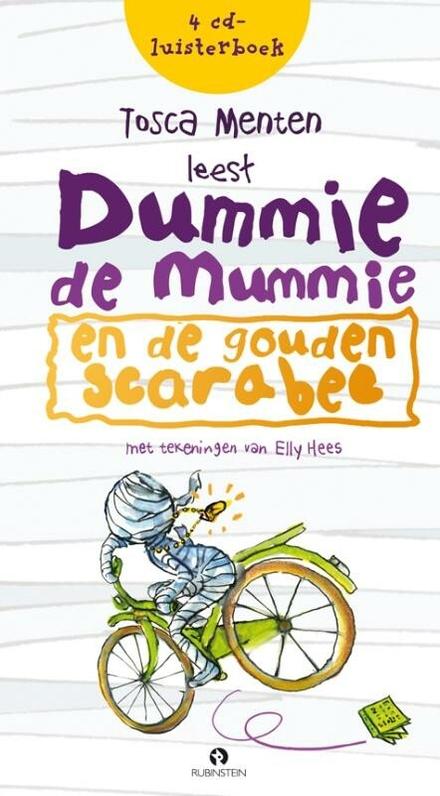 Tosca Menten leest Dummie de mummie en de gouden scarabee