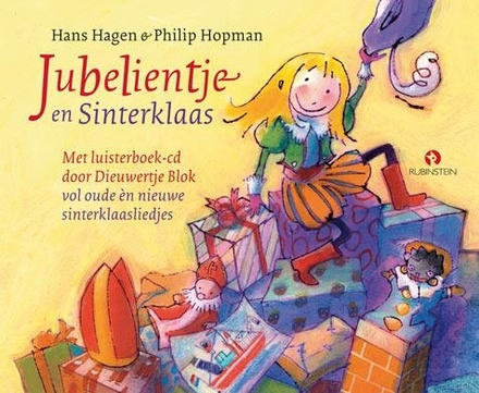 Jubelientje en Sinterklaas : vol oude èn nieuwe sinterklaasliedjes