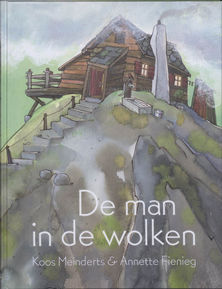 De man in de wolken