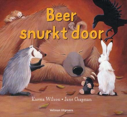 Beer snurkt door